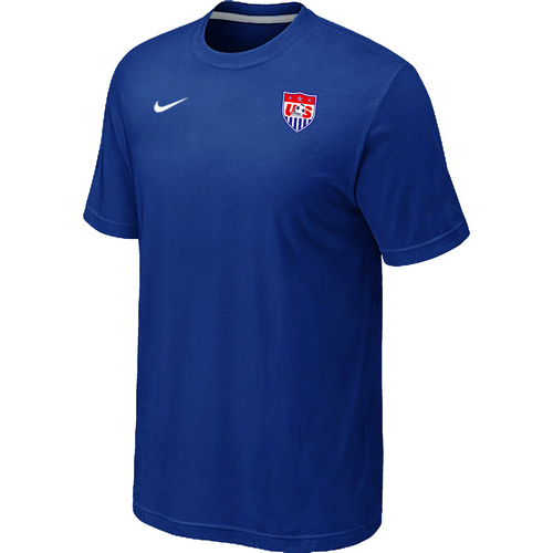 Nike National Team USA Men T-Shirt Blue