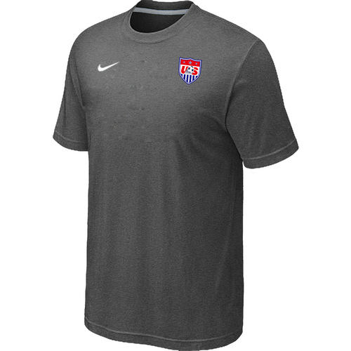 Nike National Team USA Men T-Shirt D.Grey