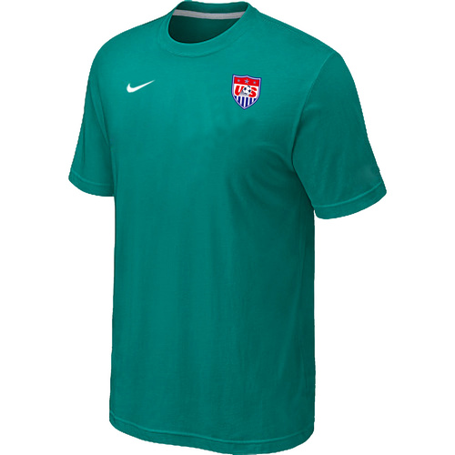 Nike National Team USA Men T-Shirt Green