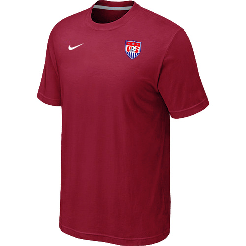 Nike National Team USA Men T-Shirt Red