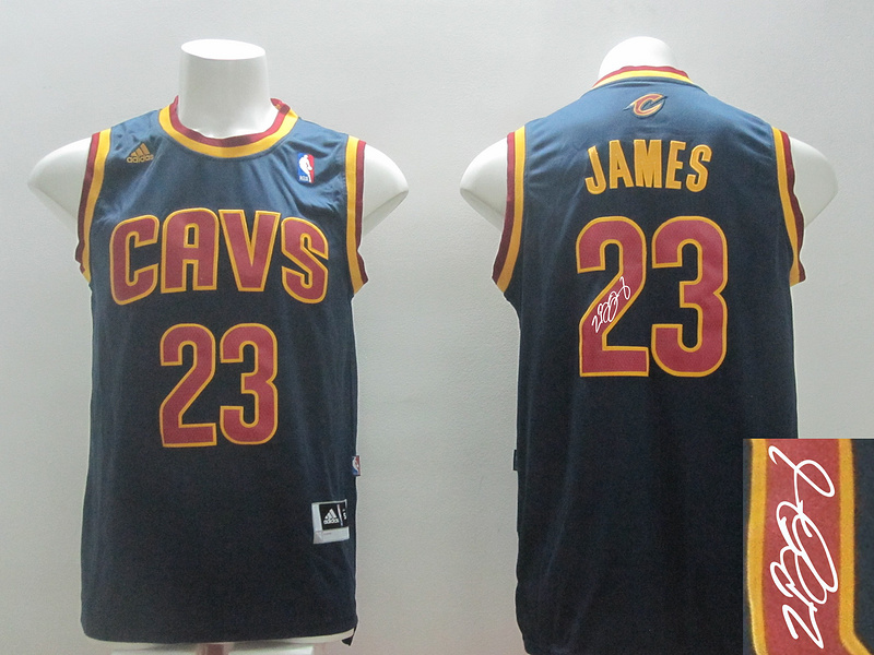 Cavaliers 23 James Blue Revolution 30 Signature Edition Jerseys