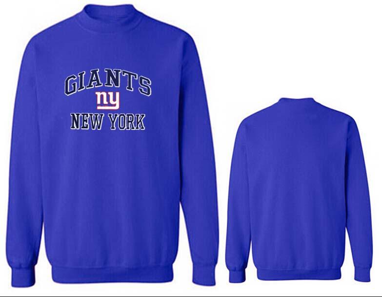 Nike Giants Fashion Sweatshirt Blue5