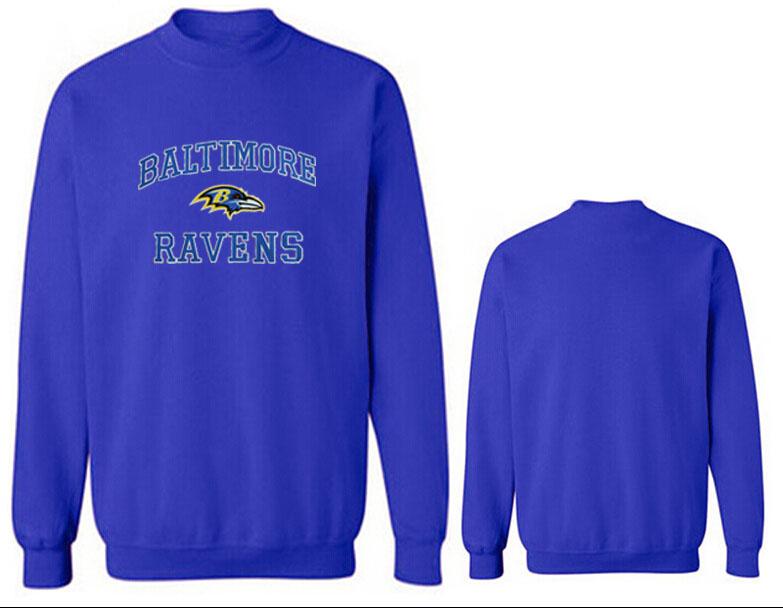 Nike Ravens Fashion Sweatshirt Blue2